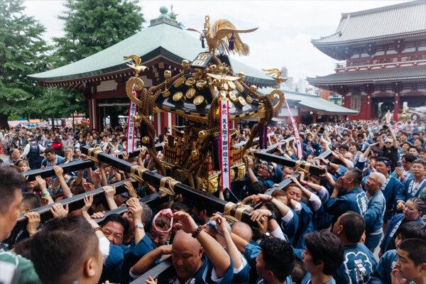 سانجا مانسوری، آئینی مهم در بودیسم ژاپن