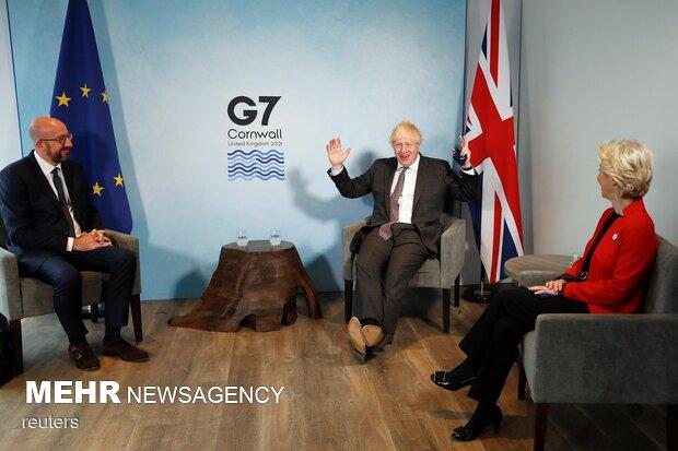 نشست سران گروه هفت در لندن