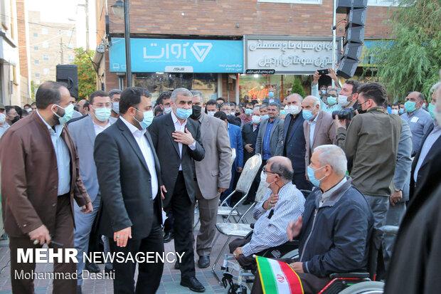 گرد همایی حامیان سید ابراهیم رئیسی در اردبیل