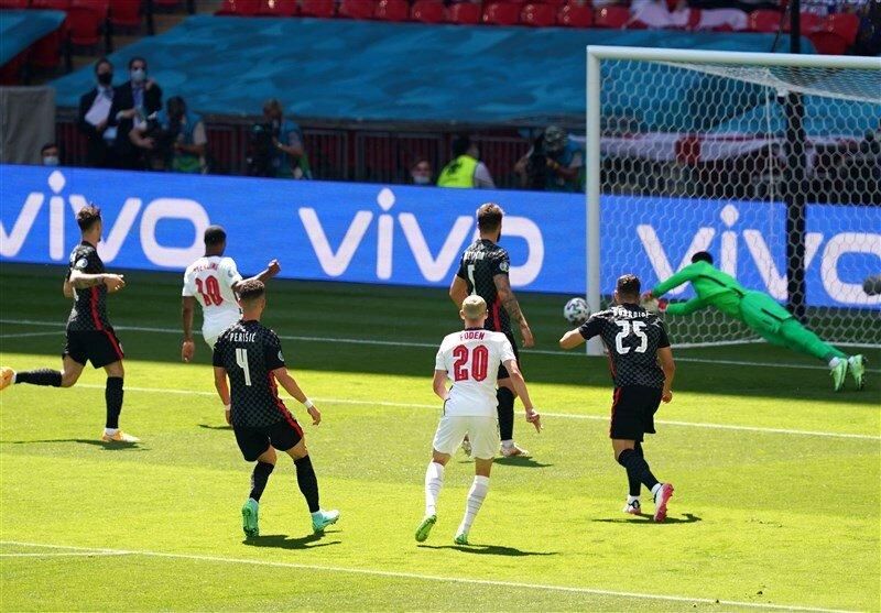 پیروزی انگلیس مقابل کرواسی/ انتقام جام جهانی گرفته شد