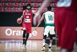 تیم ملی بسکتبال ایران برابر اسپانیا شکست خورد