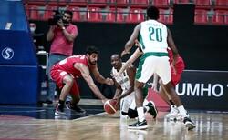 تیم ملی بسکتبال ایران برابر عربستان به پیروزی رسید