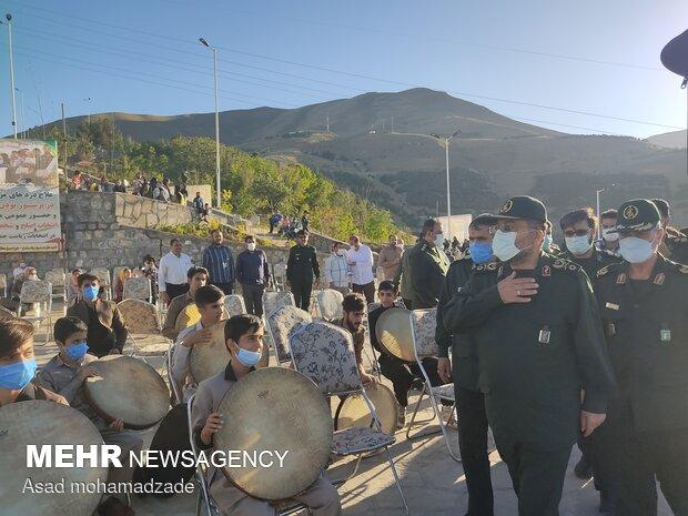 سفر رئیس سازمان بسیج مستضعفین به کردستان