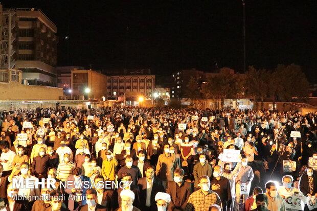 اجتماع بزرگ حامیان آیت الله رئیسی در کرمانشاه