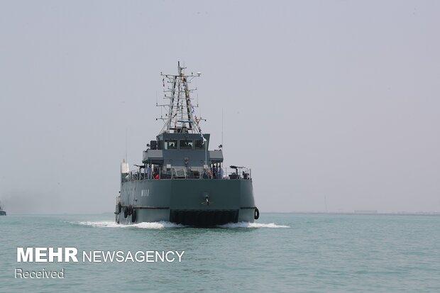 Destroyer 'Dena' & 'Shahin' minehunter