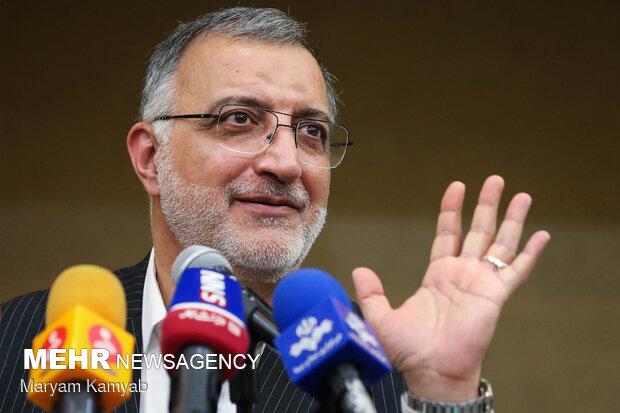 نشست خبری علیرضا زاکانی نامزد سیزدهمین دوره انتخابات ریاست جمهوری