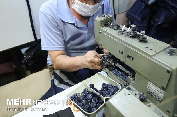 بازدید سعید جلیلی از کارگاه تولیدی ویژه معلولان
