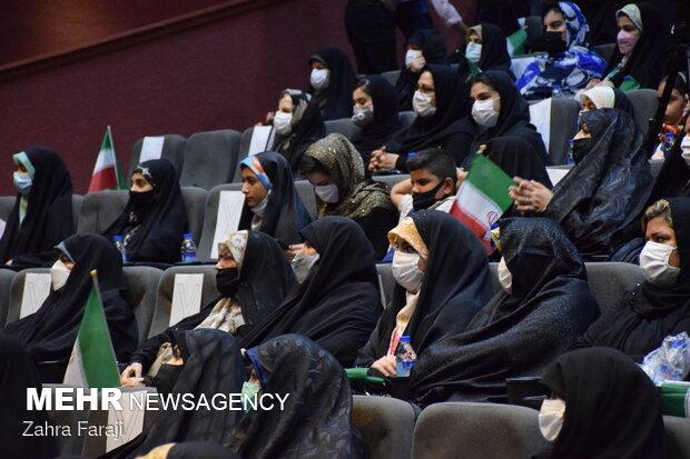 جشن روز دختر با حضور حجت الاسلام محمد قمی رئیس سازمان تبلیغات کشور