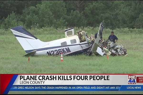 Six persons killed, wounded in a plane crash in Texas