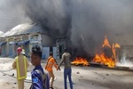 Suicide blast targets military trainees in Somali capital