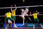 Iran volleyball narrowly loses to Australia in 2021 VNL