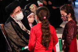 دیدار سید ابراهیم رئیسی با جمعی از دختران و بانوان