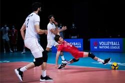 برتری نامحسوس تیم ملی والیبال استرالیا مقابل ایران