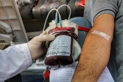 مشارکت ۱۵۶ نفر از لارستانی ها در نذر خون