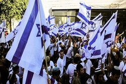 Zionists' flag march kicks off in occupied territories