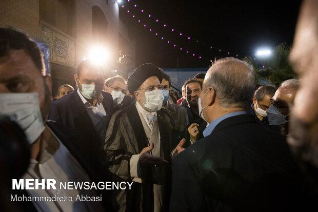 دیدار حجت الاسلام سید ابراهیم رئیسی با اهالی فرهنگ و هنر