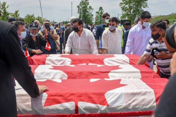 قاتل کانادایی خانواده مسلمان به «جرائم تروریستی» متهم شد