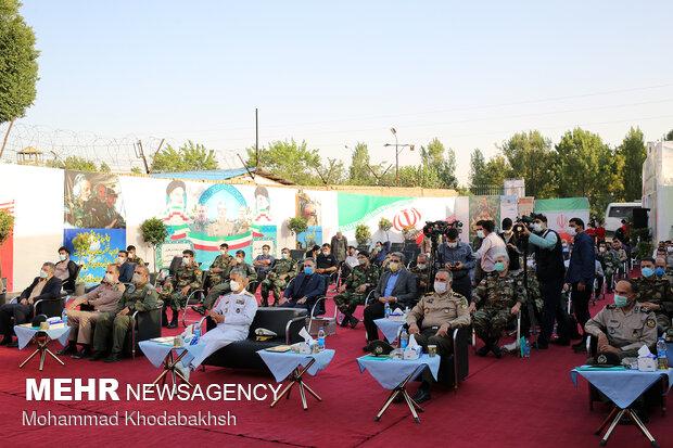 افتتاح بیمارستان صحرایی یکصد تختخوابی شهید کشوری ارتش