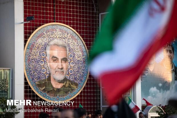 جشن تکلیف سیاسی رأی اولیها در جوار مزار سردار دلها