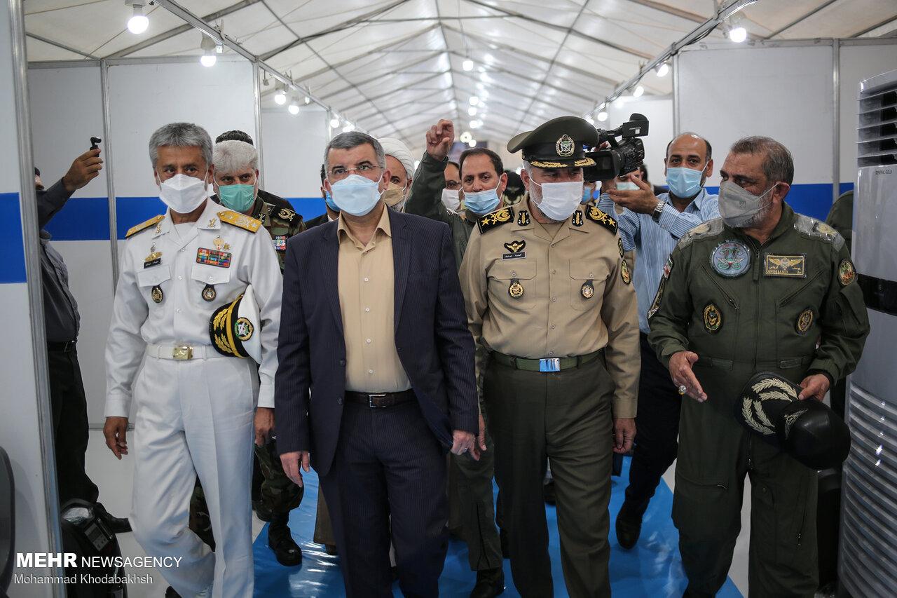 ایرانی فوج نے شہید کشوری صحرائی اسپتال کا افتتاح کردیا