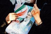 لحظه ورود ابراهیم رئیسی به ورزشگاه تبریز