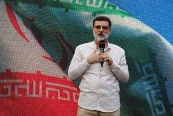 تجمع هواداران سید امیر حسین قاضی زاده هاشمی در مشهد