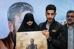 آیین خاکسپاری همسر سردار شهید ناظری ۲۷ خرداد برگزار میشود