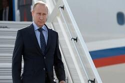 Putin'in uçağı Cenevre'ye indi