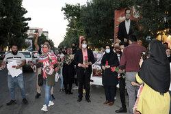 رقابت نامزدهای انتخاباتی در شاهرود