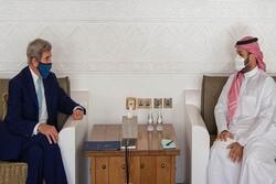 جان کری با ولیعهد عربستان دیدار کرد