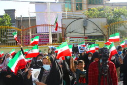 Cumhurbaşkanı adayı Ayetullah Reisi taraftarları İlam'da toplandı