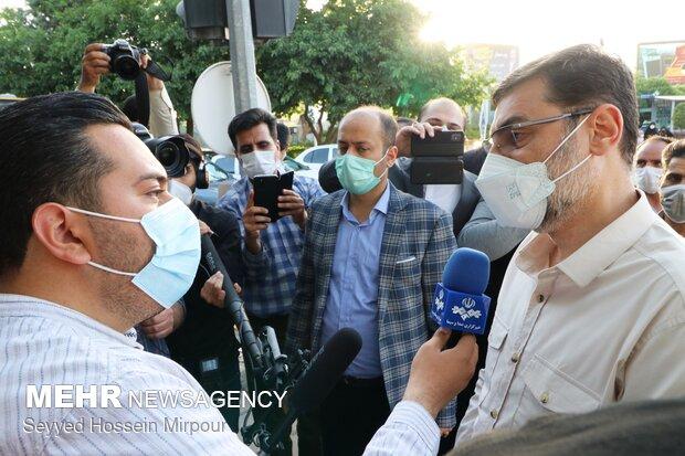 Presidential campaign in Mashhad