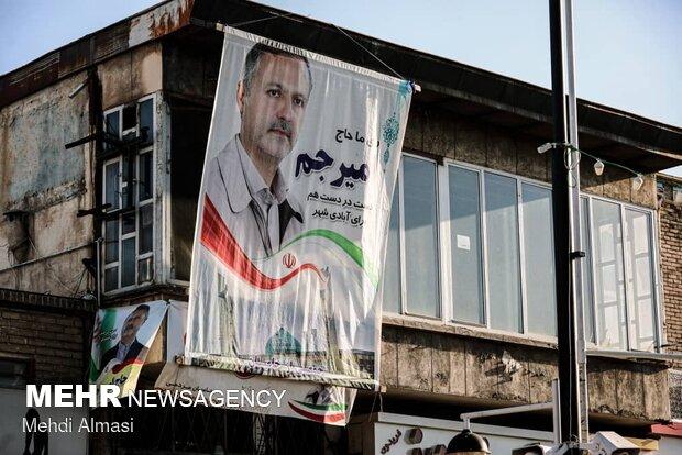 تبلیغات انتخاباتی در زنجان