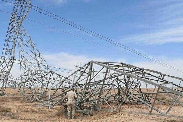 ۱۴ دکل برق در «صلاح الدین» هدف انفجار قرار گرفت