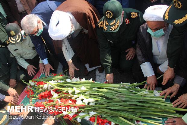 بازگشت پیکر مطهر شهید پورقنبری بعد از 33 سال