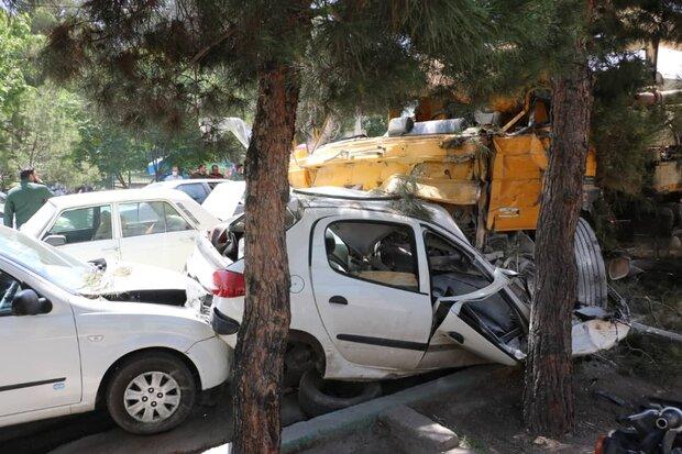 ۳ هزار و ۴۷۲ نفر در تصادفات اصفهان آسیب دیدند