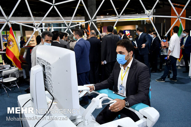 Exhibition of knowledge-based products in medical field