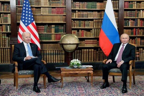 بوتين وبايدن يتصافحان في لقائهما الأول بجنيف