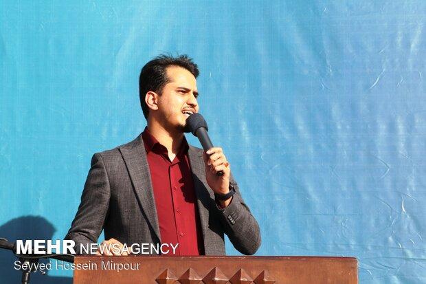 اجتماع حامیان سید ابراهیم رییسی در مشهد