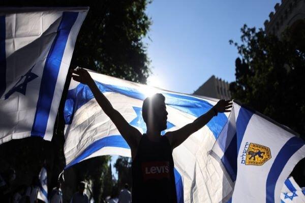 راهپیمایی پرچم صهیونیستها شکست خورد/ انتفاضه مردم فلسطین