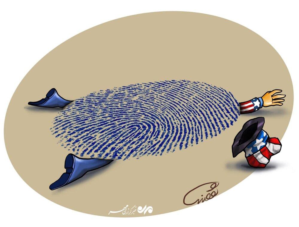 کاریکاتور رای دشمن شکن