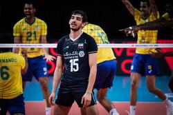 لیگ ملت های والیبال | ایران از برزیل هم باخت + جدول و فیلم خلاصه بازی