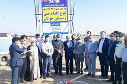 پروژه ۱۴۲ واحدی طرح ملی مسکن در گرگان کلنگ زنی شد