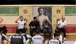 توصیه منصور برزگر در اردوی تیم ملی کشتی به المپیکیها