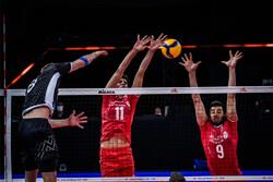 دیدار تیم ملی والیبال ایران و اسلوونی