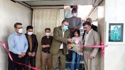 برپایی نخستین نمایشگاه سوخته نگاری در بانه