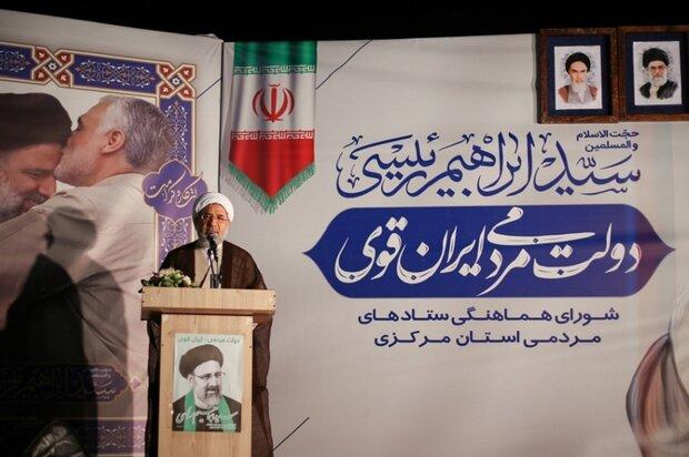 ایران اسلامی می تواند با مدیریتی توانمند به اوج اقتدار برسد