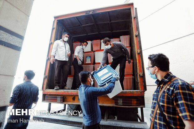 انتقال اقلام انتخاباتی در همدان