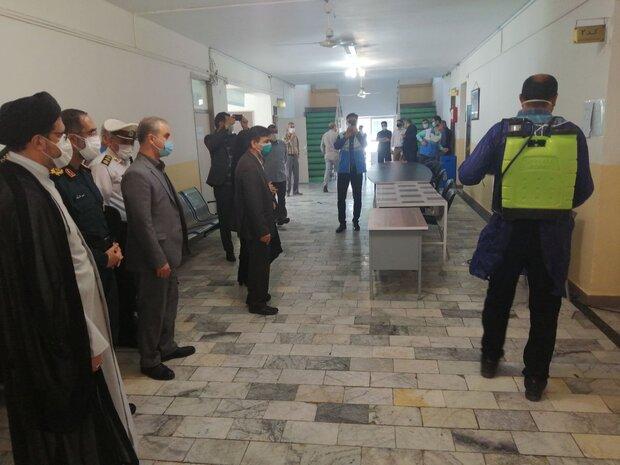 ضدعفونی شعب اخذ رأی گرگان/ ۵٨ صندوق در مدارس قرار دارد