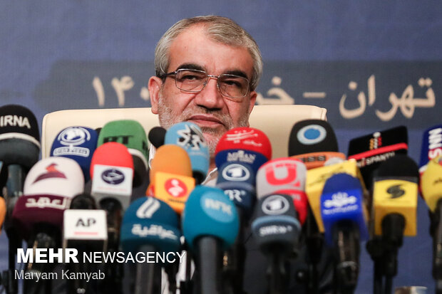 Guardian Council's Spokesman holds presser ahead of elections